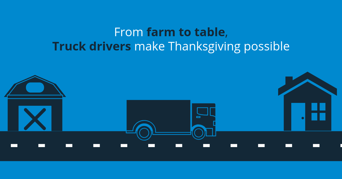 From farm to table, truck drivers make Thanksgiving possible