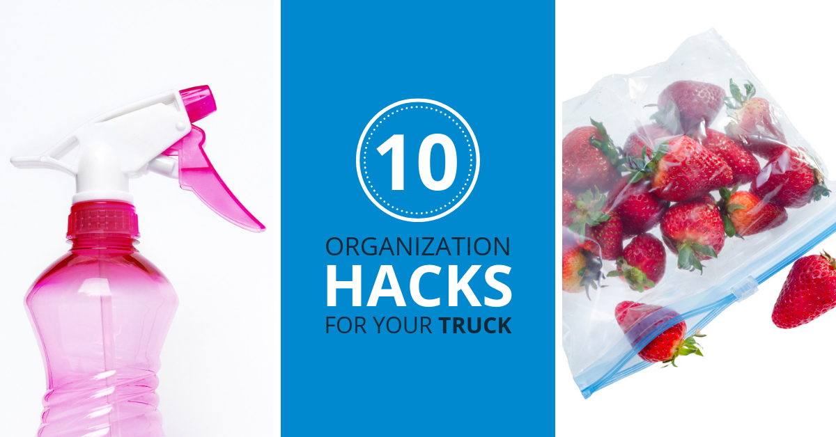 10 Organization Hacks for Your Truck